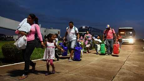لاجئون من فنزويلا في البرازيل (صورة من الأرشيف)