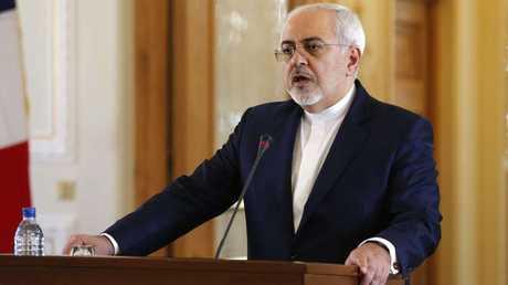 وزير الخارجية الأيراني، محمد جواد ظريف