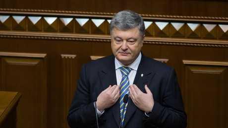 الرئيس الأوكراني بيترو باراشينكو
