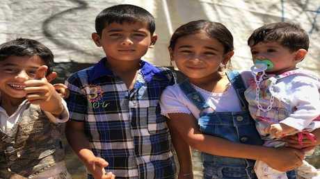 صورة ارشيفية من مخيم للاجئين السوريين في سهل البقاع اللبناني