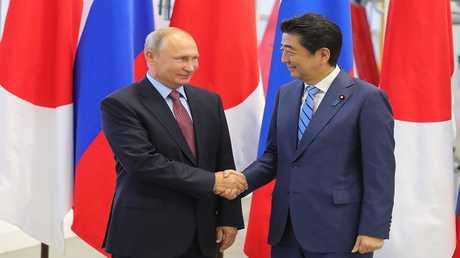 آبي ينوي تسريع المباحثات مع بوتين حول جزر الكوريل
