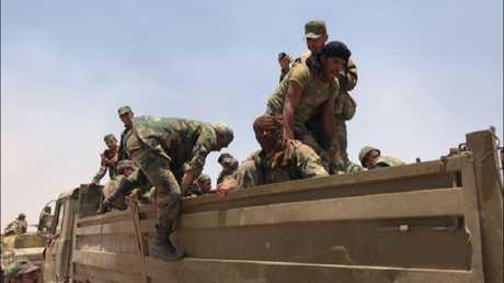 صورة ارشيفية لعناصر من الجيش السوري
