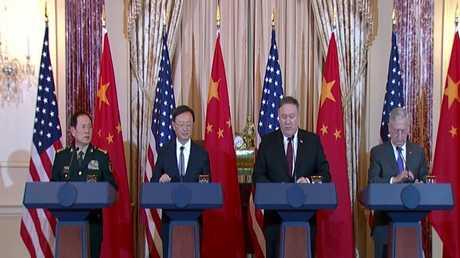 واشنطن تقول إنها لا تسعى لحرب باردة مع بكين