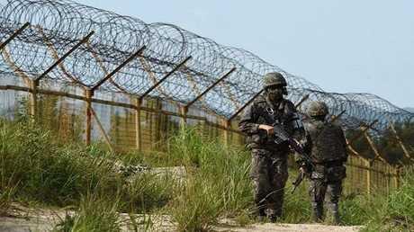 المنطقة منزوعة السلاح العازلة بين الكوريتين - أرشيف