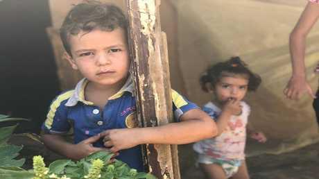 صورة ارشيفية من مخيم للاجئين السوريين في لبنان