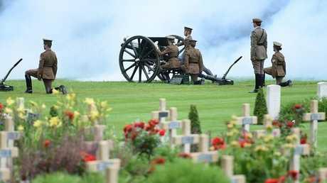 تسجيل يكشف لحظة صمت مدافع الحرب العالمية الأولى!