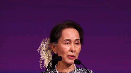 زعيمة ميانمار أونغ سان سو تشي