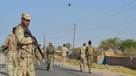 عناصر من الجيش العراقي في الأنبار - أرشيف