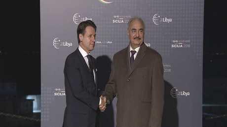 تواصل أعمال مؤتمر باليرمو حول ليبيا