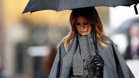 السيدة الأمريكية الأولى ميلانيا ترامب