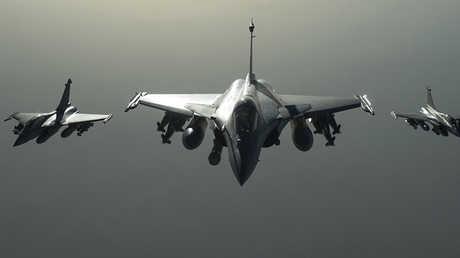 طائرات حربية تابعة للتحالف الدولي لمحاربة تنظيم