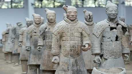 جيش تيراكوتا الشهير