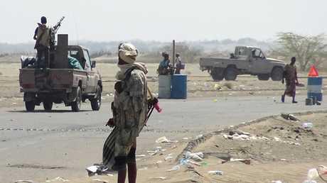 القوات الموالية للحكومة اليمنية - أرشيف