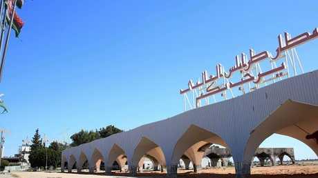 مطار طرابلس الدولي في ليبيا - أرشيف