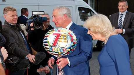 كيف احتفل الأمير تشارلز بعيد ميلاده السبعين؟