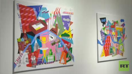 معرض فني قطري في سان بطرسبورغ
