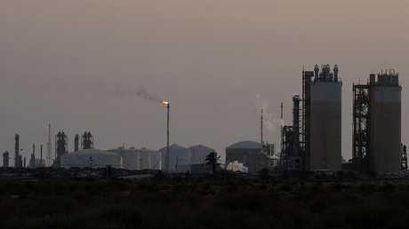 المنشآت النفطية الليبية في البرقة (صورة من الأرشيف)