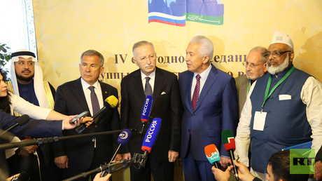 روسيا تحتفي بكفاءة إحسان أوغلو في اجتماع روسيا - العالم الإسلامي
