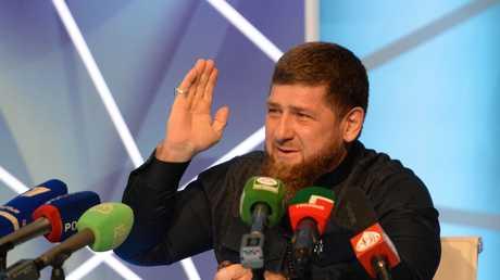 زعيم جمهورية الشيشان الروسية رمضان قديروف