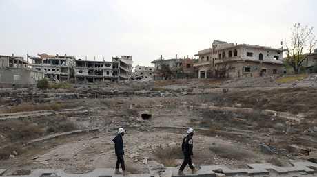 أرشيف - درعا، سورية، 23 ديسمبر 2017