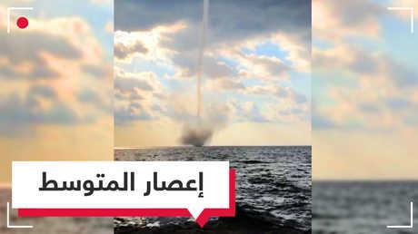 بالفيديو.. إعصاران يضربان سواحل تركيا