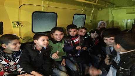 إنقاذ عدد من الأطفال السوريين في الأردن