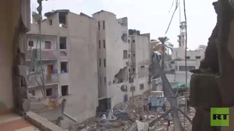 بعض الغزيين شهدوا تدمير بيوتهم مرتين