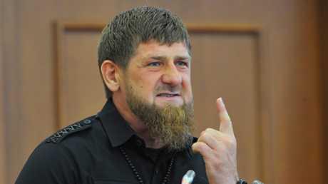 زعيم جمهورية الشيشان الروسية رمضان قديروف، أرشيف