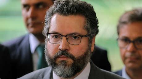 وزير الخارجية البرازيلي الجديد أرنستو أراوجو
