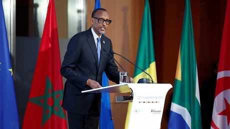 الرئيس الرواندي بول كاغامي