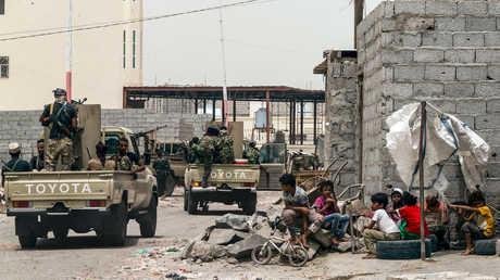 عناصر أمن في عدن - صورة أرشيفية