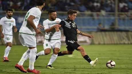 منتخب العراق يتلقى ضربة موجعة قبل انطلاق كأس آسيا