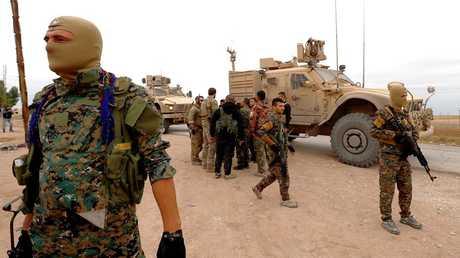 """عناصر لـ""""قوات سوريا الديمقراطية"""""""
