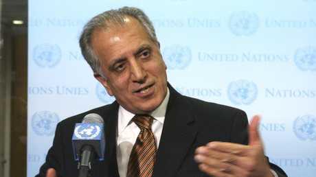 المبعوث الأمريكي الخاص للسلام في أفغانستان، زلماي خليل زادة