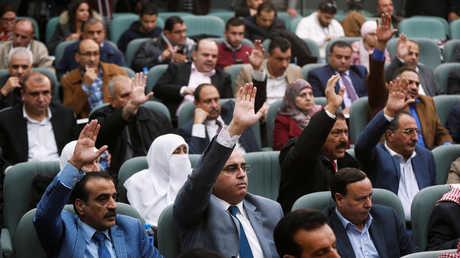 أعضاء في مجلس النواب الأردني