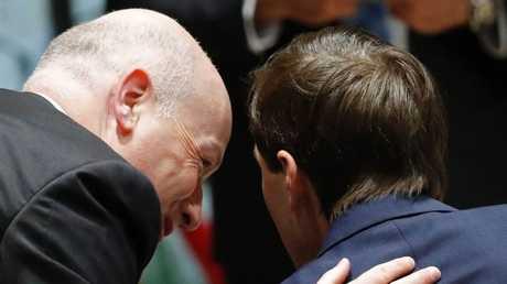 كبير مستشاري ترامب وصهره، جاريد كوشنر، ومبعوثه الخاص للسلام في الشرق الأوسط، جيسون غرينبلات