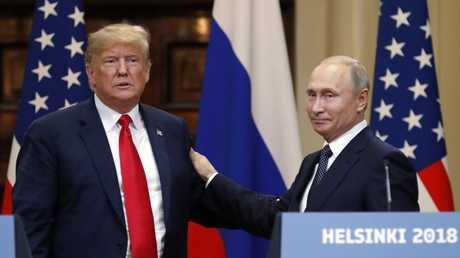 قمة بوتين-ترامب في هلسنكي، فنلندا، 16 يوليو 2018