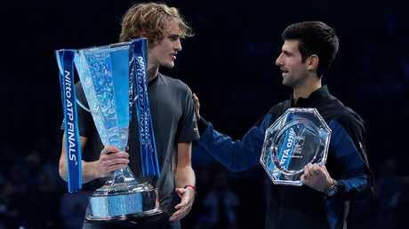 دجوكوفيتش يبتعد في صدارة لاعبي التنس المحترفين وزفيريف رابعا
