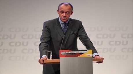رجل الأعمال الألماني فريدريش ميرز