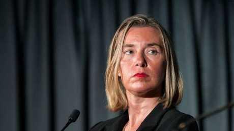 مفوضة السياسة الخارجية للاتحاد الأوروبي، فيديريكا موغيريني