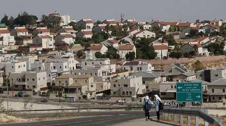 إحدى المستوطنات الإسرائيلية في الضفة الغربية