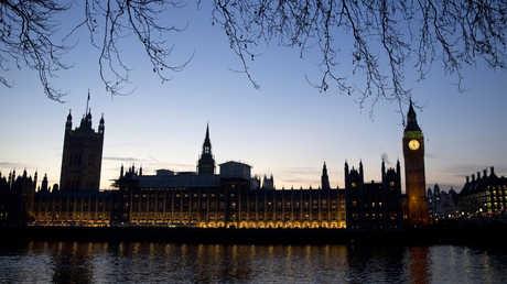 مشهد البرلمان البريطاني