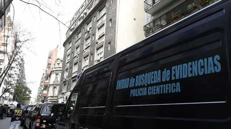 سيارة للشرطة الأرجنتينية