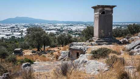 مدينة باتارا القديمة في تركيا