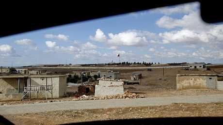 الحديد السورية - التركية (صورة من الأرشيف)
