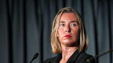 مفوضة السياسة الخارجية للاتحاد الأوروبي فيديريكا موغيريني