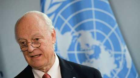 دي ميستورا: عملية تشكيل اللجنة الدستورية السورية تواجه عقبات