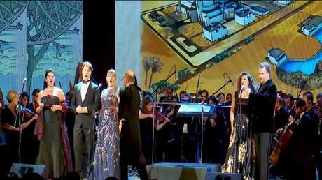 عرض مسرحي مصري روسي في القاهرة