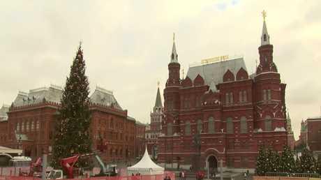 استعدادات موسكو لموسم أعياد رأس السنة