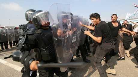 احتجاجات في محافظة البصرة جنوبي العراق - أرشيف